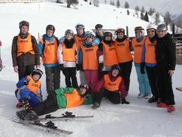 Tag 1 auf Skiern